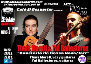 Thaïs Morell & Yul Ballesteros